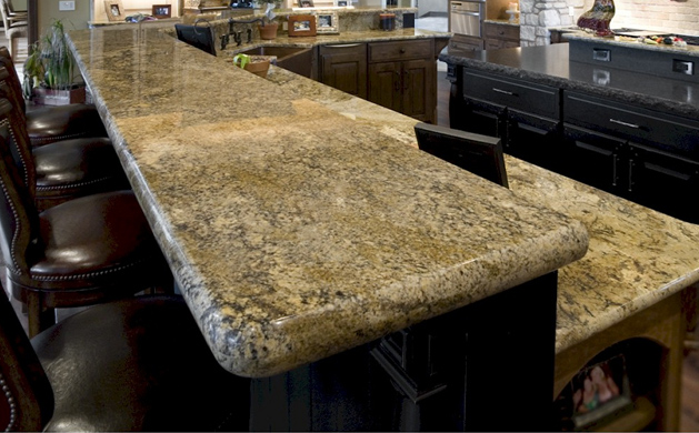 Granite slabs and tabletops